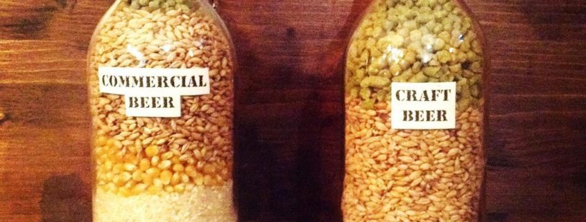 birra artigianale e industriale