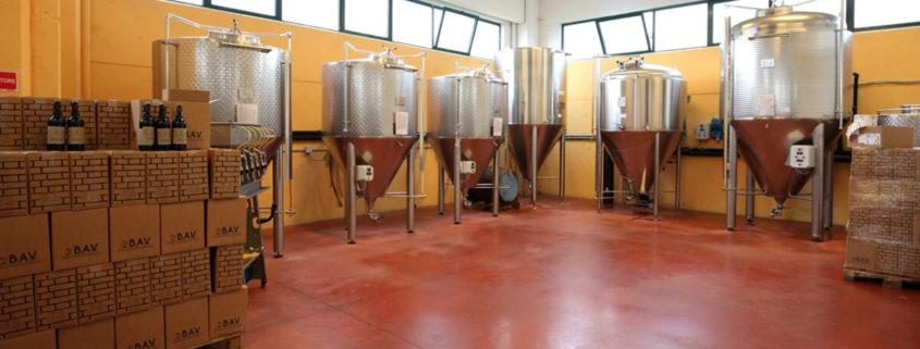 Dry hopping fermentatori