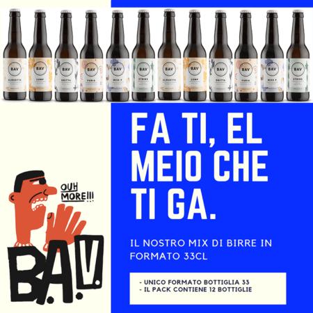 Mix 12 birre da 33cl